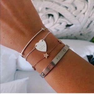 Gucci heart bracelet